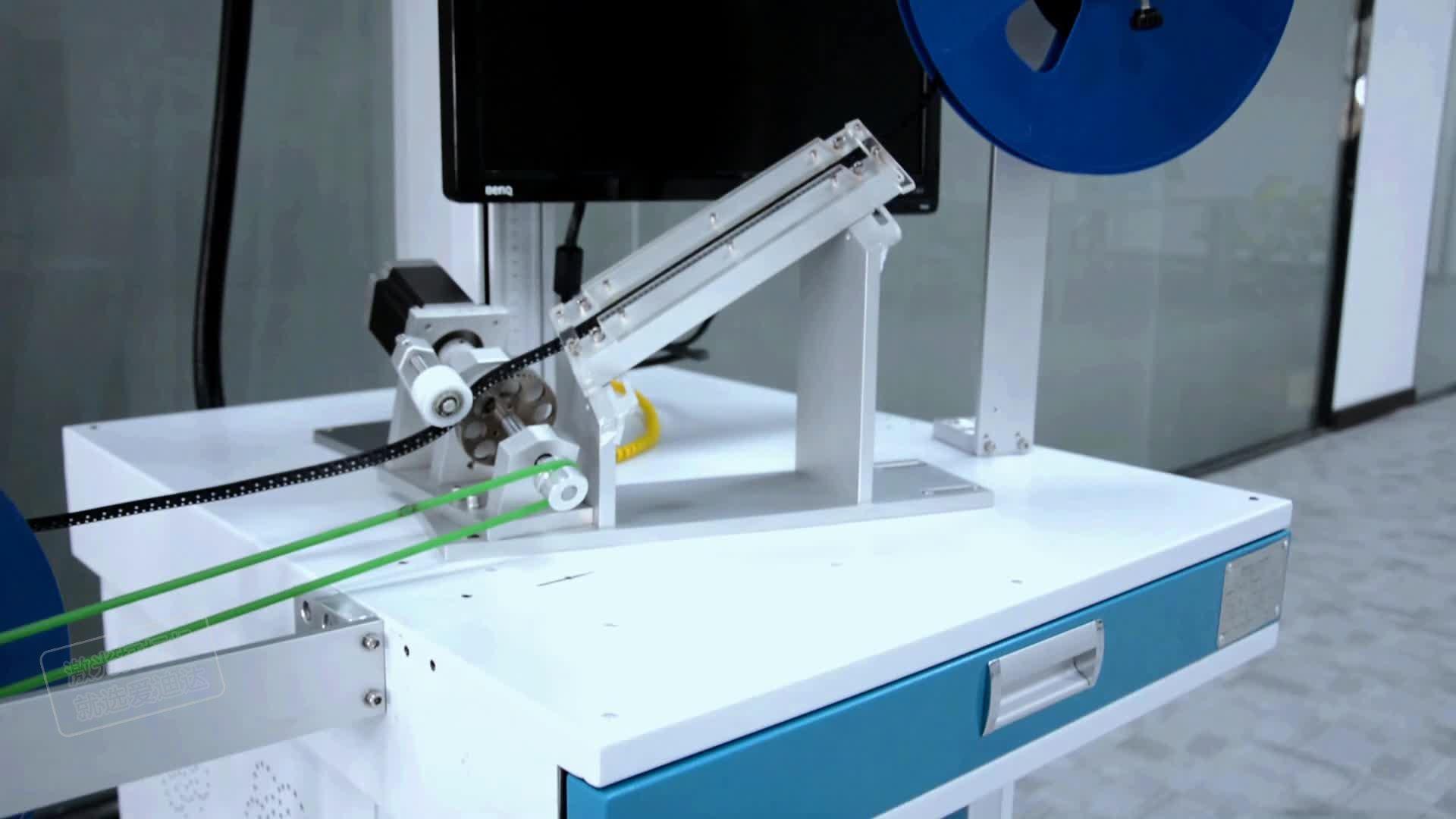 全自动芯片打标机视频
