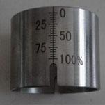 钢尺刻度激光打标