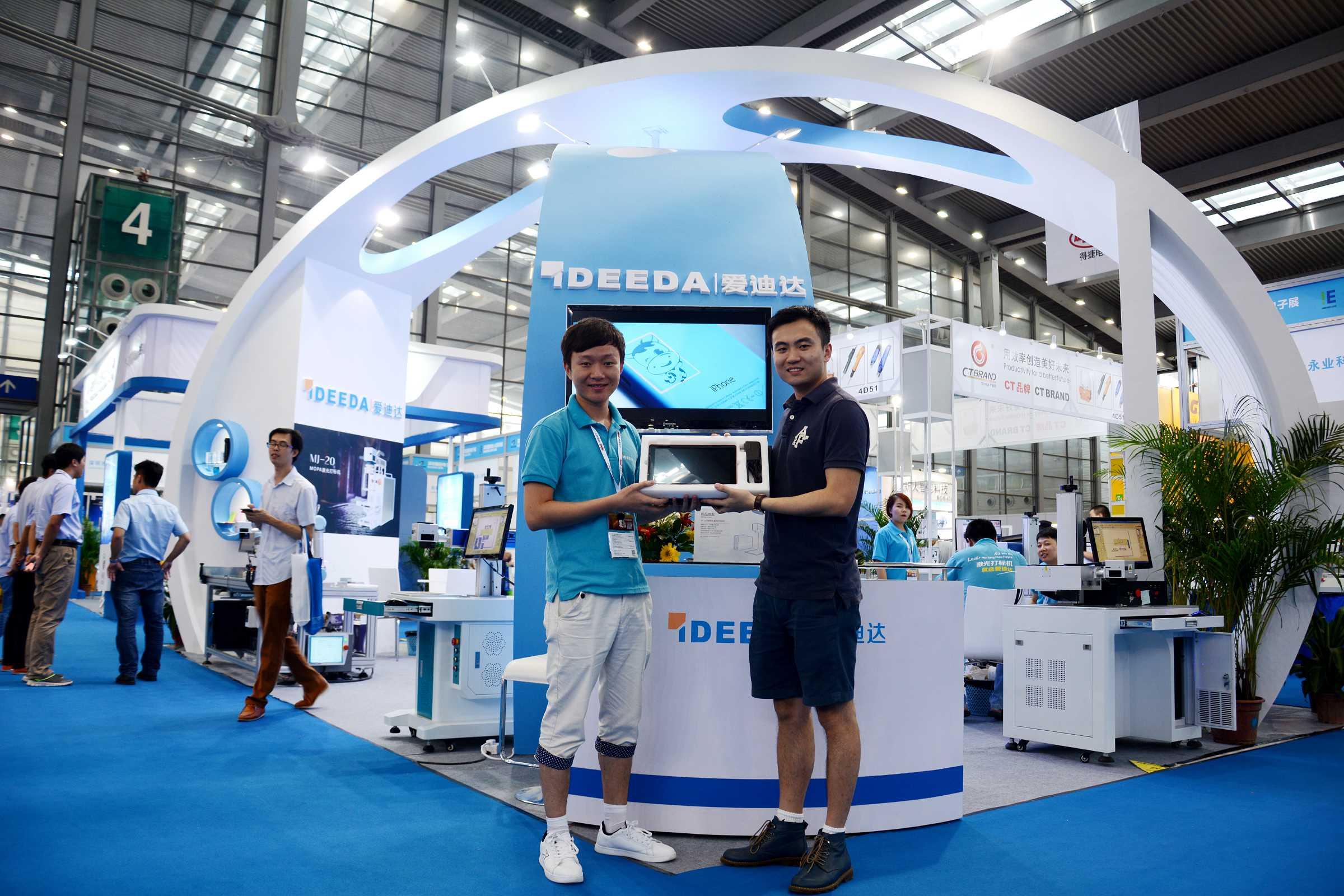 [展会]深圳国际电子展,爱迪达科技收获盛誉