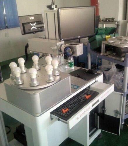 自动化多工位旋转激光打标机