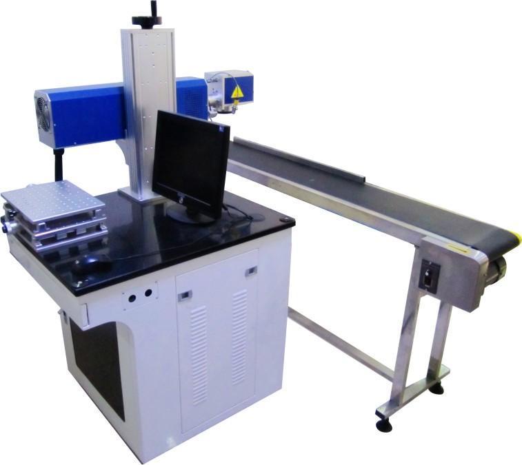 东莞手机行业激光雕刻机生产现场